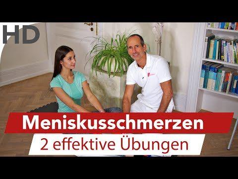 Knieschmerzen Übungen zum Mitmachen // Knieübungen gegen Schmerzen im Knie - YouTube