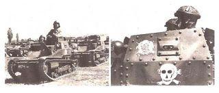 A 14. kerékpáros zászlóalj kisharckocsi-szakasza Tankette platoon of 14th bicyce battalion