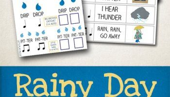 The Umbrella Song : Rainy Day Songs - Let's Play Music