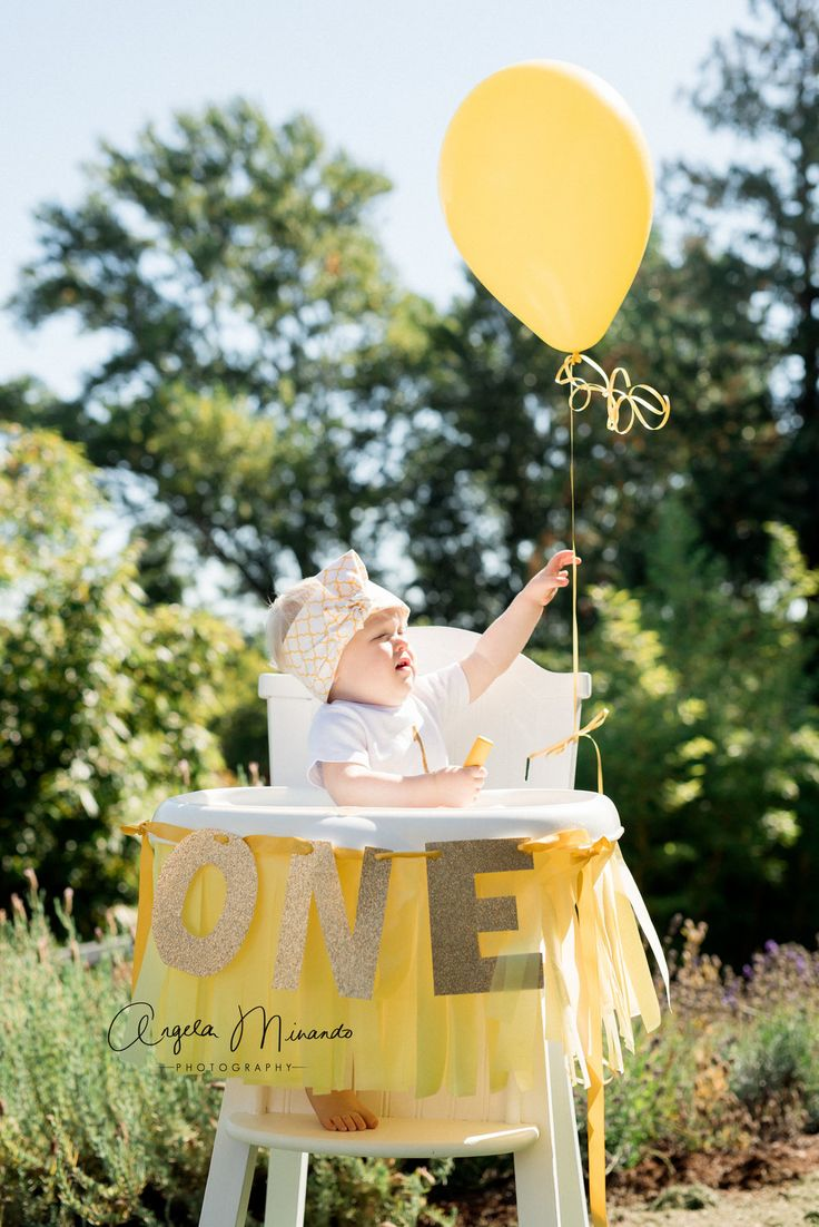 7 Things A First Birthday Party Needs — All My Kids In A Row - You Are My Sunshine First Birthday Party