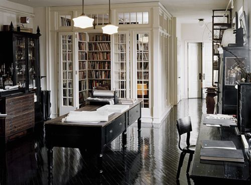 librarySpaces, Libraries Room, Home Libraries, Floors, Dreams, Bookroom, Book Room, Black, Home Offices