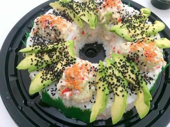 Rosca de sushi CALIFORNIA