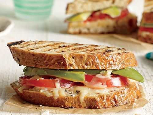 Avocado and Tomato Grilled Cheese Sandwiches   Every diet begins with watching what you eat. Counting calories is key whether you're maintaining a healthy weight or working to shed a few pounds. Fortunately, there's an easier way to go about the math than tracking down nutritional info and logging every bite: build a strong portfolio of delicious low-calorie meals and let it do the work for you. We'll get you started with this collection of vegetarian recipes that are short on calories but…