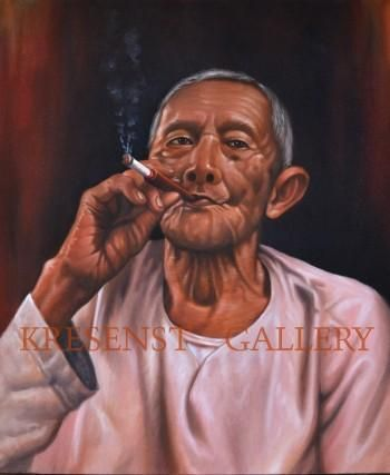 """""""My GrandFather"""" #Creative #Art in #painting @Touchtalent http://bit.ly/Touchtalent-p"""