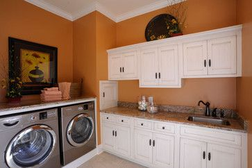 white kitchen cabinets orange walls laundry room with burnt orange walls and white 28879