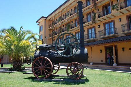Museo de #Colchagua display outside - #colchaguatours | Colchagua Tours