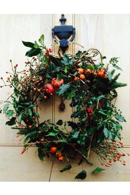 Discover the most wonderful Christmas wreaths this season, your front door's must-have accessory, on HOUSE - design, food and travel by House & Garden