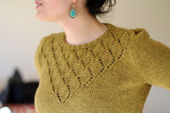 Beautiful sweater... maybe in pastel pink?