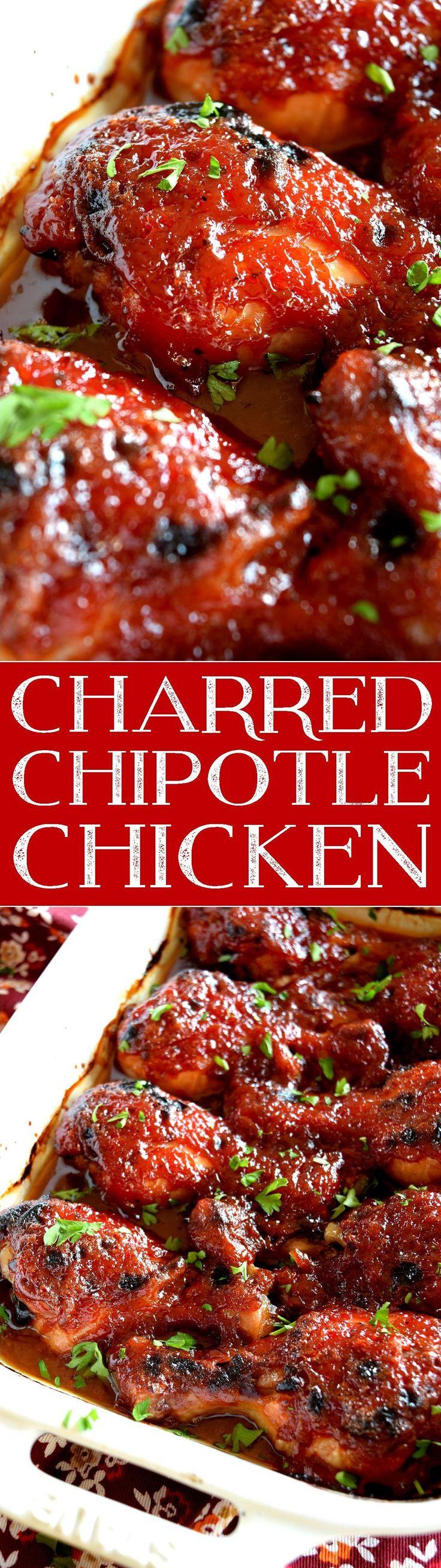 Charred Chipotle Chicken