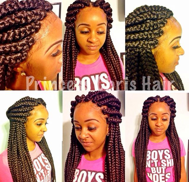 layered sew in weave hairstyles : Braids Hairstyles, Big Box Braids, Hairstyle Ideas, Braid Hairstyles ...
