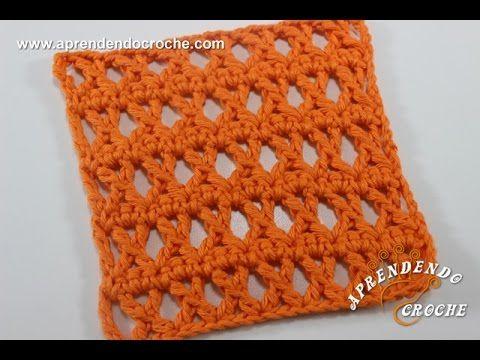 Ponto X - Aprendendo Croche - YouTube