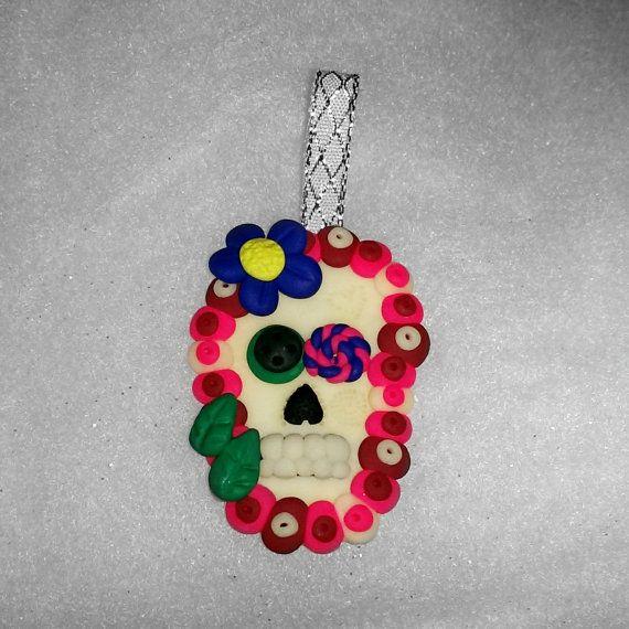 sugar skull christmas tree Decoration - glow in the dark ...