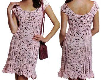 Beach crochet dress PATTERN sexy crochet by OnlyFavoritePATTERNs