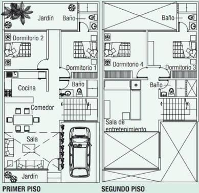 11 best Planos images on Pinterest Floor plans, Small house plans