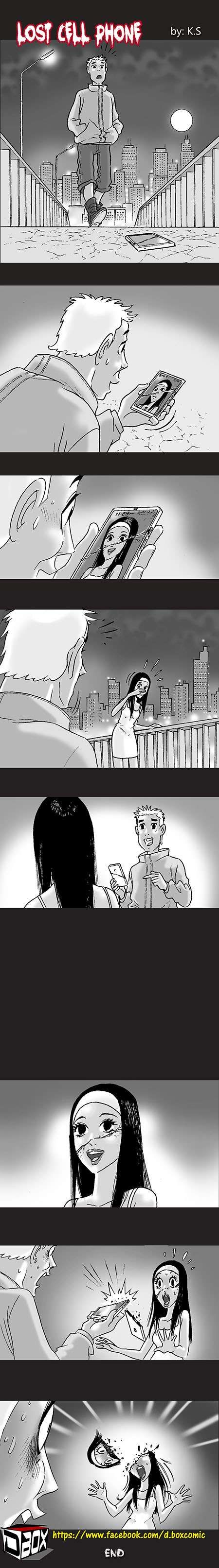 Silent Horror :: Lost Cell Phone | Tapastic Comics - image 1