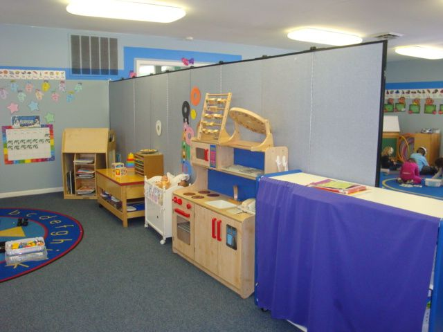 School Room Dividers Part - 40: Daycare Room | Daycare Room Screens Divide Large Room Into Smaller Sections
