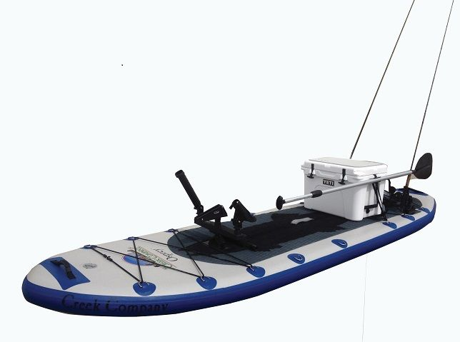The Creek Company :: Stand Up Paddleboards :: #974 - Osprey Inflatable Fishing Stand Up Paddle Board