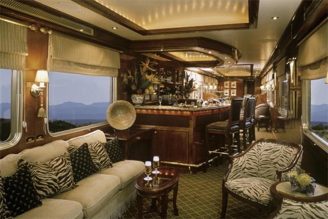 Blue Train - um verdadeiro hotel cinco extrelas em movimento