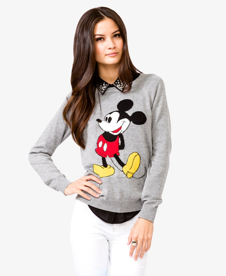 Mickey Mouse® Pullover | FOREVER21 - 2040496212