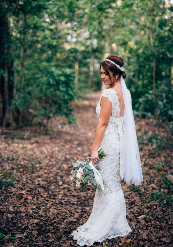 Simple Mara Hoffman Beaded Silk Chiffon Gown STYLE Size Wedding Dresses For SaleChiffon
