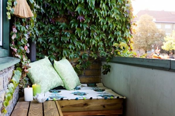Great website with design ideas for small outdoor space