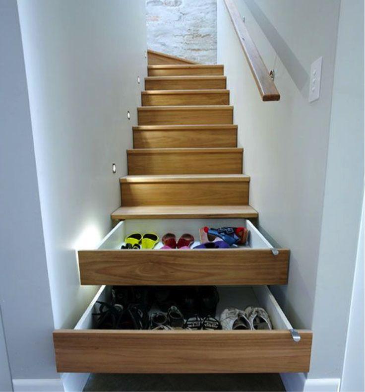 Storage Under Steps