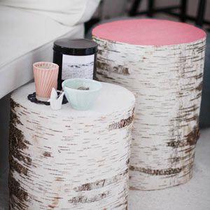 Après la table basse composée de petits rondins, voici deux autres versions de table basse en bois au choix: la version rondin ou la version palette… Vous préférez laquelle? Et si vous cher…
