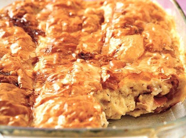Πεντανόστιμη σπιτική ζαμπονοτυρόπιτα - Food | Ladylike.gr