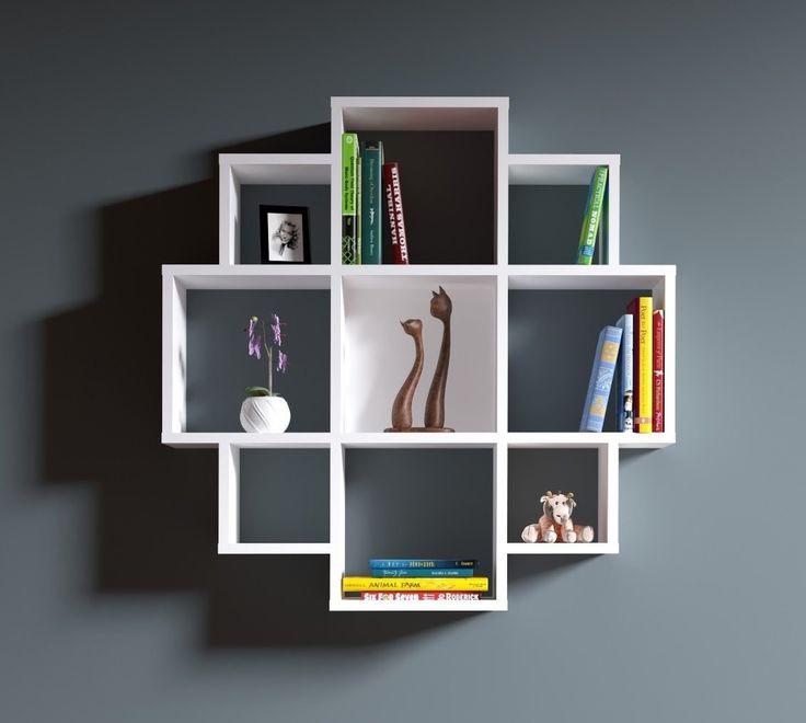Bloom estanter a de pared estanter a de madera - Estanterias diseno para libros ...