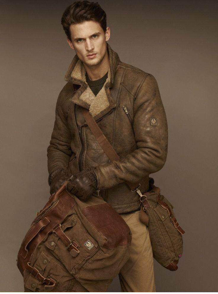 Sheepskin jacket from UK