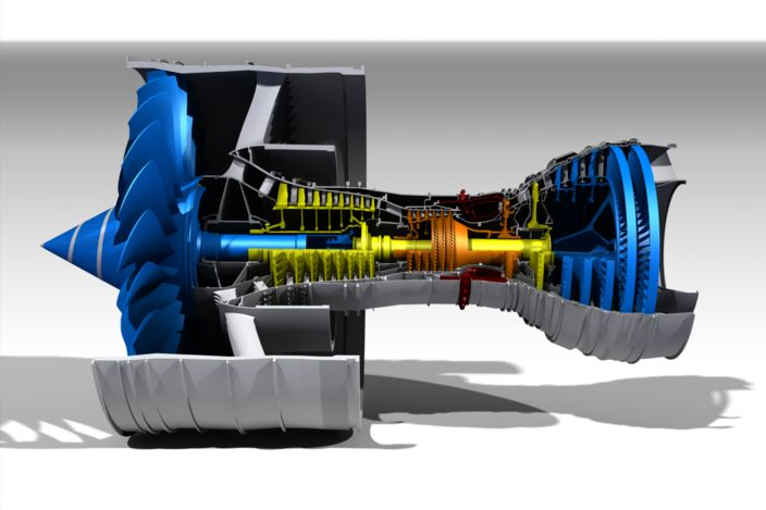 Rolls-Royce Trent 900 Turbofan - STL, Other - 3D CAD model - GrabCAD