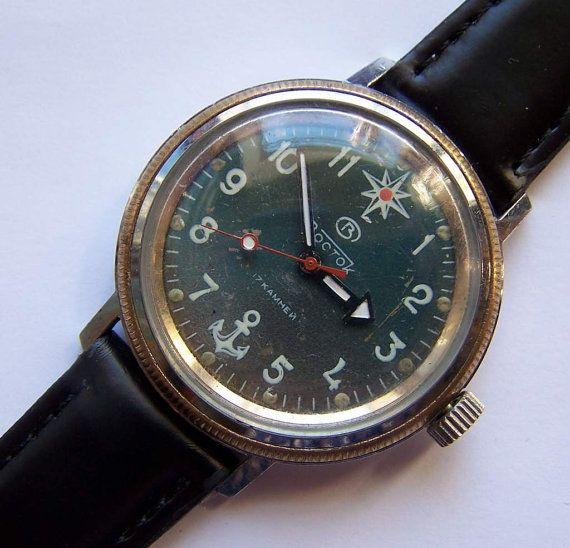 soviet vostok komandirskie vintage russian