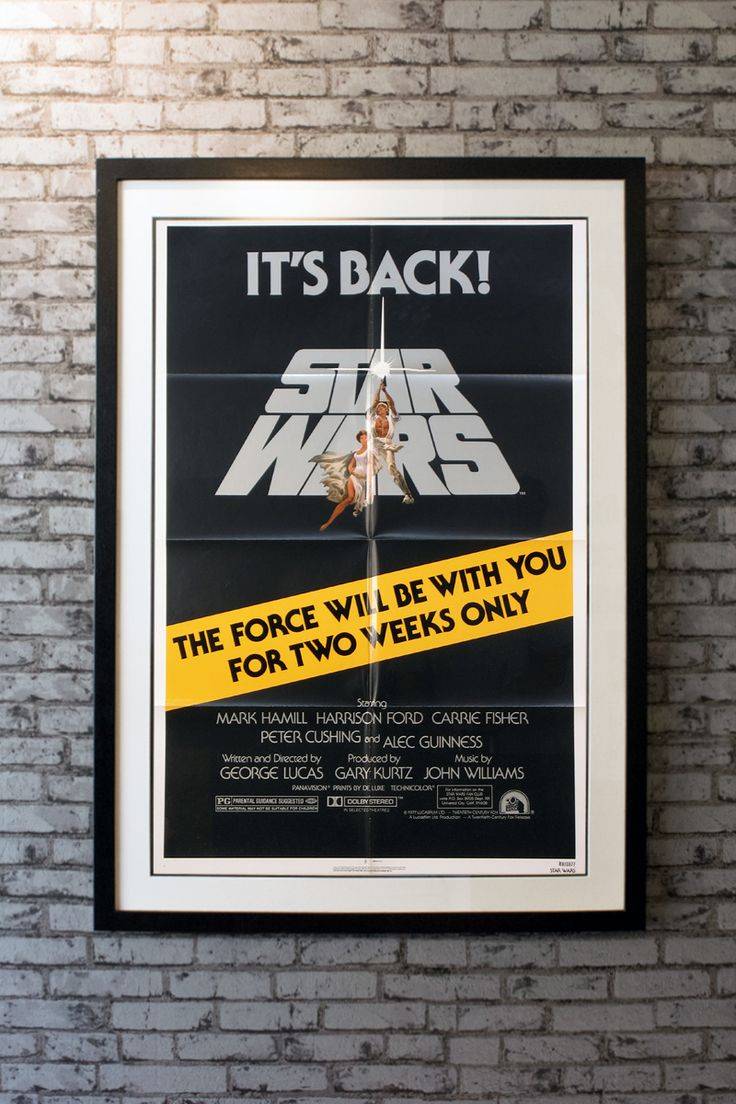 Starring Mark Hamill, Harrison Ford, Carrie Fisher, Alec Guinness, Peter Cushing, Anthony Daniels, Kenny Baker, Peter Mayhew, David Prowse and James Earl Jones. Directed by George Lucas. Artwork by Tom Jung. - See more at: https://www.atthemovies.co.uk