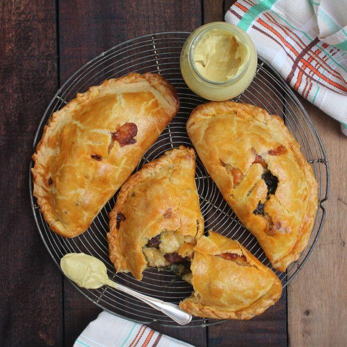 Chorizo and Potato Pasty recipe by Rachel Khoo