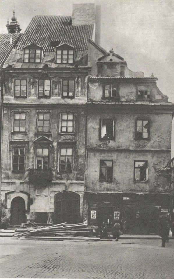 Warszawa międzywojenna - Rynek Starego Miasta