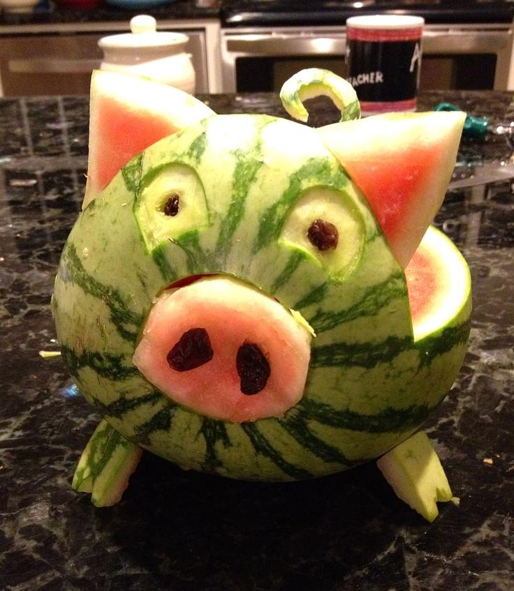 25 Best Ideas About Watermelon Pig On Pinterest Pig
