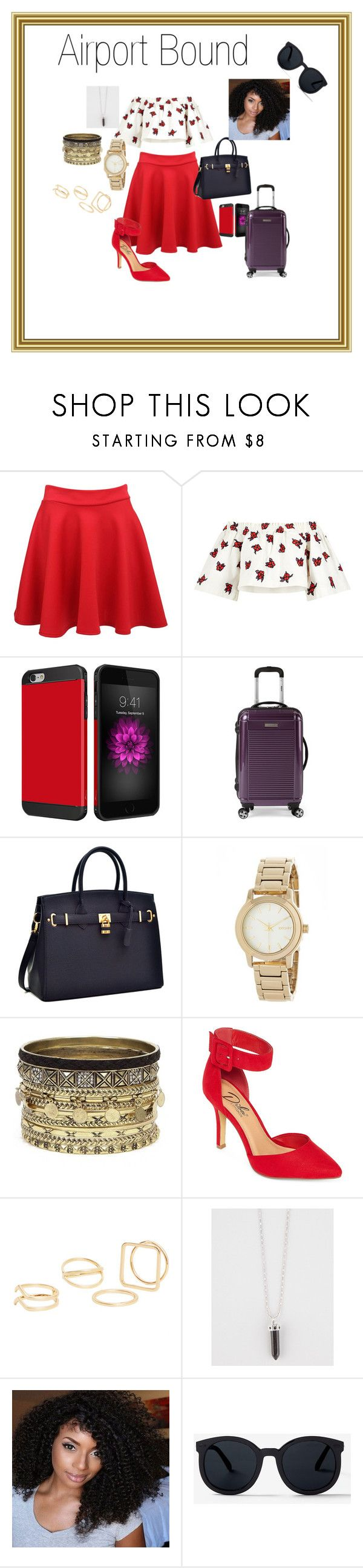 """Last minute Weekend Getaway"" by constance-dangerfield on Polyvore featuring Pilot, House of Holland, DKNY, Daytrip, Diba, MANGO and Full Tilt"