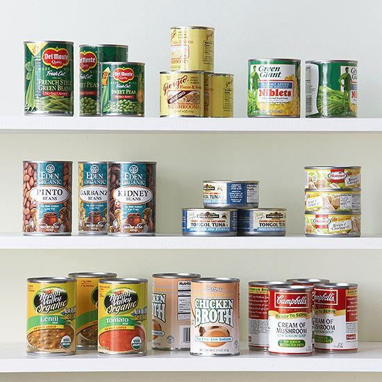 We recommend these low-sodium and no-salt-added pantry staples.