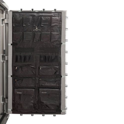 Liberty Door Panel - Fits Gun Safe Models 48-64 - Accessory and Organizer for Pistols, Handguns, Ammunition, Magazines, Choke Tubes and Other Security Products - Item 10587 - Black - http://reviewslikecrazy.com/gun-safes-for-sale/liberty-door-panel-fits-gun-safe-models-48-64-accessory-and-organizer-for-pistols-handguns-ammunition-magazines-choke-tubes-and-other-security-products-item-10587-black/