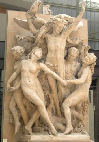Jean Baptiste Carpeaux - Tanec (Pařížská opera)