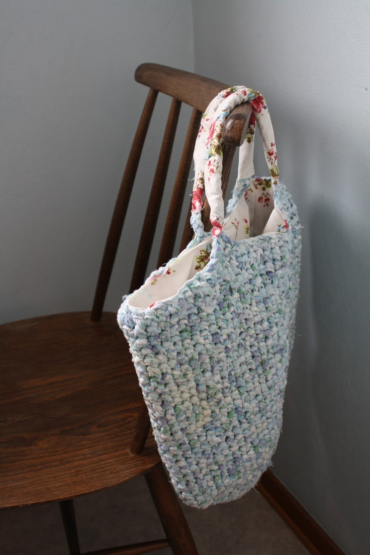 #bag #crochet #rag