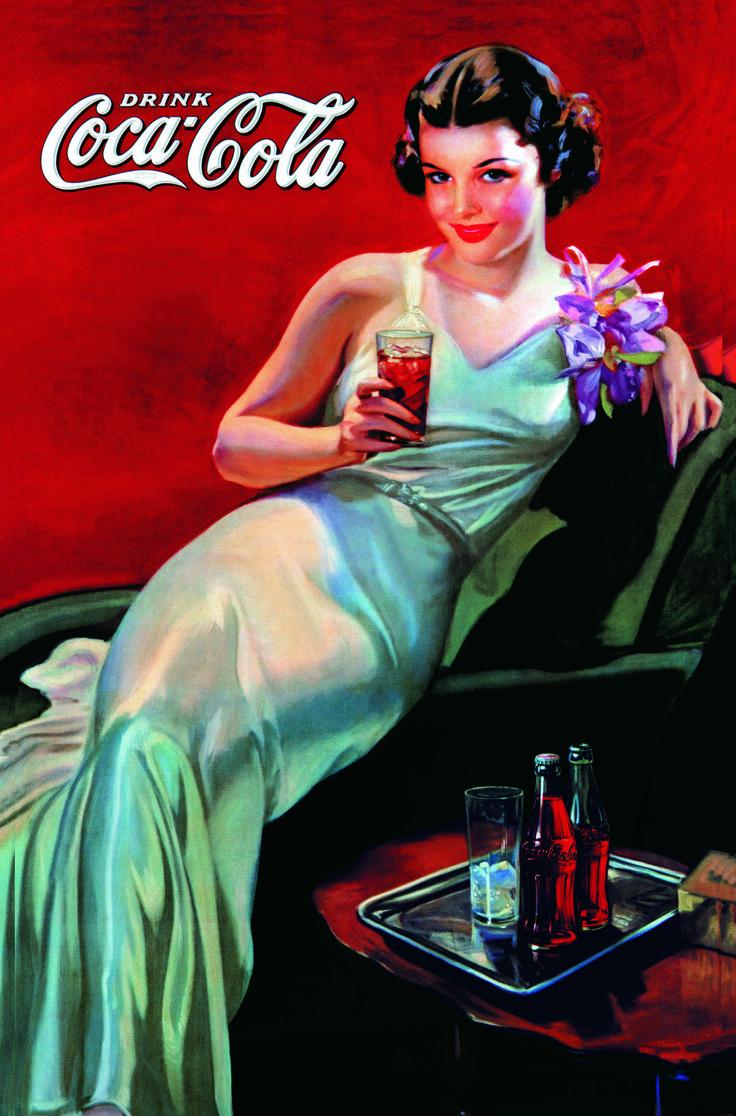 1000 images about coca cola affiches on pinterest. Black Bedroom Furniture Sets. Home Design Ideas