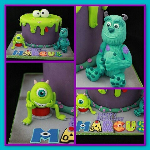 Mosters inc. cake #CakesInspiredByFilms We love this!