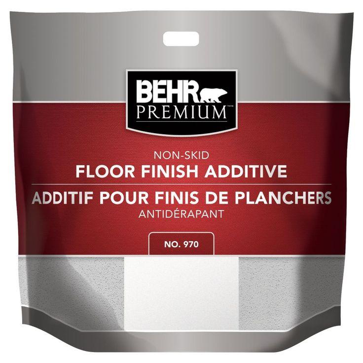 Behr behr nonskid floor finish additive 85g the home