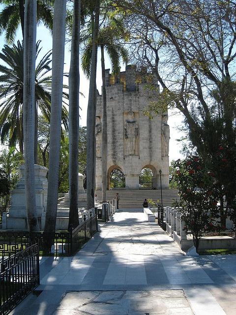 Santiago de Cuba - Mausoleum of Jose Marti at Cementerio de Santa Ifigenia