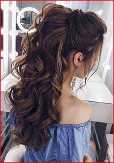 Wavy Hairstyle   Top Ten Haircuts For Long Hair   Evening Hairstyles For Medium Length Hair 20190712 - July 13 2019 at 12:57AM