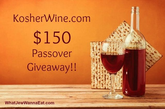 Enter to win a $150 KosherWine.com gift card! Free kosher wine, just in time for Passover.