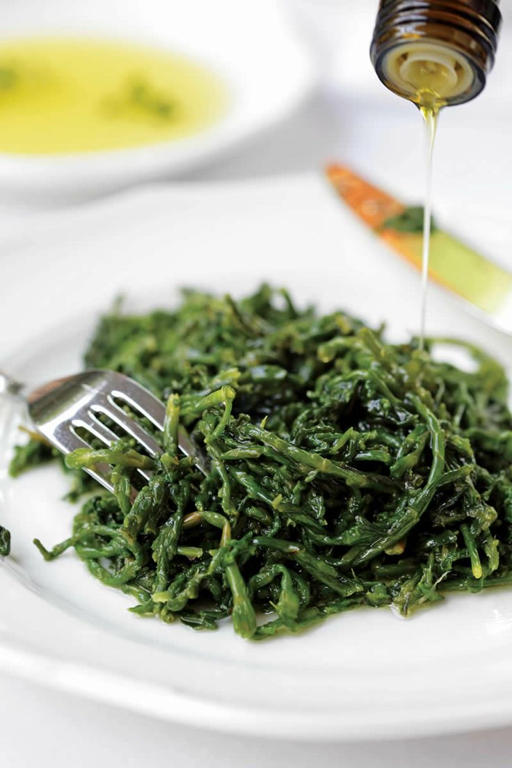 Cretan Greens with Oil and Lemon #Cretan #Cuisine #Alogdianakis #Farm
