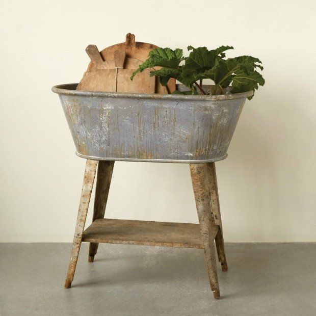 Better Homes And Gardens Small Galvanized Bin Silver: Best 25+ Wash Tubs Ideas On Pinterest