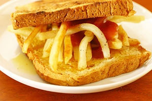Chip Butty, UK